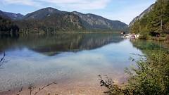Almsee - Austria (Been Around) Tags: sterreich upperaustria wandern obersterreich almsee lake o natur grnau almtal eu europe grnuaimalmtal austria autriche aut a salzkammergut herbst autumn hiking