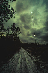_DSC9482-Edit (CassinStacy) Tags: forest florida woodlands night dusk sky clarity spooky dark scary evening radio tower