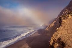 Coastline (Juan Pablo J.) Tags: sonya68 coast coastline beach naturaleza naturephotography seascape sky fog seashore ocean outdoors outdoor landscapes lights