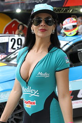 Grid Girls (alnero) Tags: grid girls gridgirls stockcar braziliangirls canon canon7d 7d tamron tamron1850 tamron1750 gorgeous sexy automobilismo race catsuit