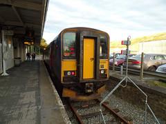 153380 Liskeard (5) (Marky7890) Tags: gwr 153380 class153 supersprinter dmu 2l90 liskeard railway cornwall train looevalleyline