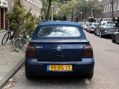 Volkswagen Golf 4 cabrio 1999 nr2362 (a.k.a. Ardy) Tags: 95dgzx softtop car