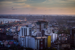 Cityscape, Chittagong 2016 (Fazley Rabby) Tags: cityscape architecture olympus micro43 landscape colors building sea seascape water