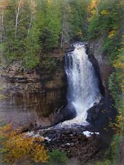 Miners Falls (yooperann) Tags: miners falls pictured rocks national lakeshore munising alger county michigan fall autumn upper peninsula waterfall