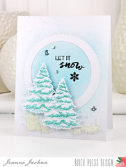 Let It Snow (akeptlife) Tags: birchpressdesign cardmaking stamping dies papercrafting letitsnow stitchedcirclelayers openstudio