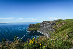 The Cliffs of Moher (T-Bean) Tags: cliffsofmoher countyclare ireland summer landscape