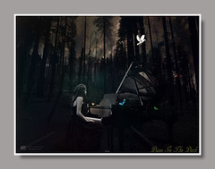 Piano In The Dark_Upload (Derrick_Nguyen) Tags: photoshop digital manipulation deviantart faestock yosemite l