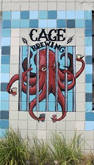 Cage Brewing (jmaxtours) Tags: streetart stpetersburg murals stpetersburgmurals florida fla stpetersburgstreetart cagebrewery cage cagebrewing octopus