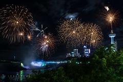 Niagara Falls Fireworks - Happy Sunday! (2/3) (-> LorenzMao <-) Tags: nikon nikond750 nightphotography nightlights niagara niagarafalls fireworks fireworksdisplay niagarafallsfireworks canada