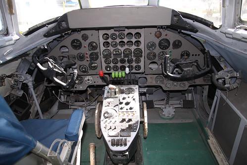 Viscount cockpit
