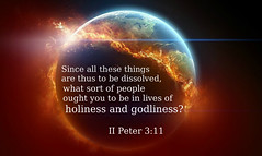 II Peter 3:11 (joshtinpowers) Tags: peter bible scripture
