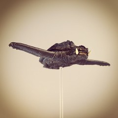 Flying Gamera (WEBmikey) Tags: toys kaiju gamera revoltech