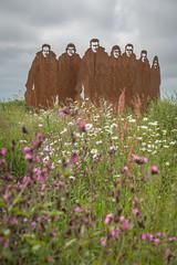 Lissett (stevefge) Tags: beverley lissett uk yorkshire monument memorial flowers