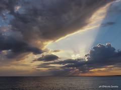 Tramonti d'estate (NIKOZAR (Nicola Zaratta)) Tags: sunset tramonti mare olympusem10 torreovo taranto puglia