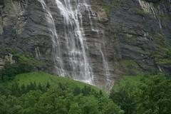 Waterfall in the Lauterbrunnen Valley (AGrinberg) Tags: switzerland 0401237 waterfall lauterbrunnen valley