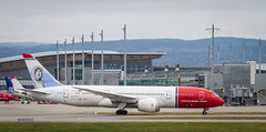 LN-LNE Norwegian Long Haul Boeing 787-8 Dreamliner (KnutHSolberg) Tags: aviation engm lnlne osl oslolufthavngardermoen akershus norway norwegianairshuttle norwegian norwegianlonghaul boeing7878dreamliner boeing dreamliner boeing787