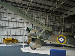 Westland Lysander (A.Nilssen Photography) Tags: london museum airplane top aircraft wwii wing ww2 westland lysander raf worldwar2 hendon recon royalairforce monoplane reconnaissance 2013 topwing battleofbritainhangar