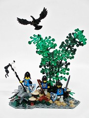 Black Falcons of Nocturnus (Julius No) Tags: black men lego lion falcon falcons falco guilds historica