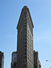 Flat Iron Building, NYC (Timbo_a_go_go) Tags: nyc usa building architecture skyscraper iron flat flatiron