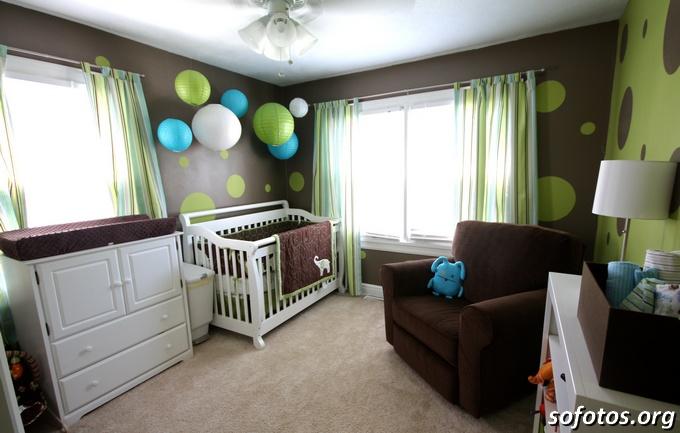 Idéias para quartos de bebes