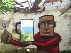 a cuppa joe! (falko splitpiece) Tags: pictures original inspiration streetart art beautiful beauty southafrica one graffiti photo bush famous fame murals can best spray aerosol inspiring falko streetstyle falkoone flickrandroidapp:filter=none