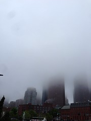 Foggy Boston #nofilter (anandrajaram) Tags: nofilter uploaded:by=flickrmobile flickriosapp:filter=nofilter