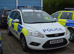 Essex Police | Ford Focus | Incident Response Vehicle | XXxx | EU59 KUV (Chris' 999 Pics) Tags: police essex esspol