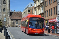 Reading  413 - YR13 PLZ (Solenteer) Tags: reading scania cng 413 alexanderdennis readingtransport readingbuses enviro300 k230ub yr13plz