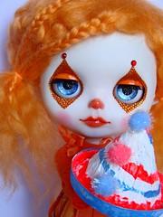 Custom Blythe - Orange Clown