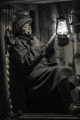 A Short Rest (rdx209) Tags: portrait soldier war trenches pipesmoker bobdavies