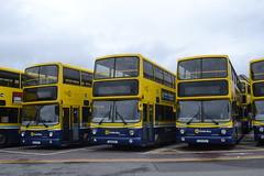 Dublin Bus AV267 02-D-20267 - AV229 01-D-10229 - AV224 01-D-10224 (Will Swain) Tags: broadstone depot 12th june 2016 garage yard central bus buses transport travel uk britain vehicle vehicles county country southern south east ireland irish city centre dublin av267 02d20267 av229 01d10229 av224 01d10224