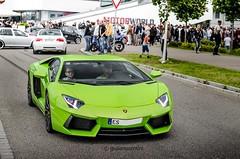 Verde Ithaca! (Giuliano Zentini) Tags: lamborghini aventador lp7004 lp700 v12 green verde ithaca italian bull