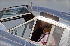 Beechcraft C-45H Expeditor (Pavel Vanka) Tags: warbird flyin plzen plzenline lkln airport aircraft classictrainers hangar3 vintage oldtimer plane airplane spotting czechrepublic czech pilsen twinbeech beech beechcraft c45h expeditor beechcraft18 beech18 pilot
