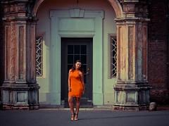 Sunrise Part 1 (Michaela Efford Art Creations) Tags: michaelaefford michaelaeffordmodel canon600d canon colour fashion photography portrait selfportrait missguided model dress girl light instagram hair highheels brownhair facesofportraits