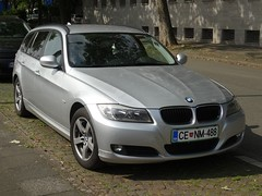 BMW 3er Touring from Slovenia (harry_nl) Tags: deutschland germany 2016 duisburg bmw 3er touring slovenia celje