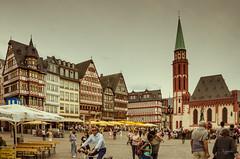 Plaza Rmerberg, Frankfurt (lugarlu) Tags: viajes frankfurt alemania arquitectura plazas nikond7000