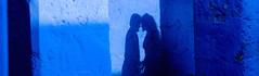 Blue Romance (Rob Whittaker Photography) Tags: santacatalina peru robwhittaker kiss couple blue romance artistic art shadow silhouette robwhittakerphotography sazzoo sazzoocom