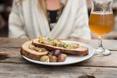 Pork Toast (Ryan-Steel) Tags: hair dog pork toast beer brewery portland oregon delicious pub grub olives