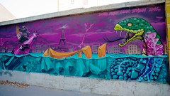 Paris underwater (OliveTruxi) Tags: 2rode arturbain bambam binho graff graffiti lazoo paris streetart urbanart france