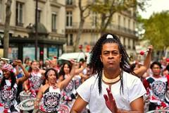 Drumming away (__sam) Tags: lavage de la madeleine paris france brazilian dance drums music street colors cloudy performance people portraites