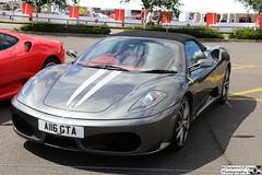 2005 Ferrari F430 Spider F1 (cerbera15) Tags: silverstone classic 2016 ferrari f430 430 spider f1