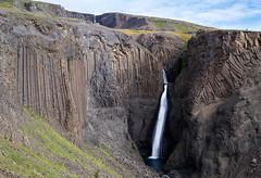Iceland - Litlanesfoss (Jacopo.Colombo) Tags: 6d canon6d canoneos6d iceland islanda hengifoss waterfall longexposure leefilter litlanesfoss basaltic basalto 24105 24105f4 ef24105mmf4lisusm canonef24105mmf4lisusm 105