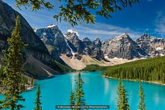 Turquoise Glimmer (Mike Blanchette) Tags: banff canada canadianrockies glacier moraine nationalpark lake rockies rockymountains turquoise improvementdistrictno9 alberta ca