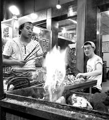 Kebab guys, Xi'an (MarcoFlicker) Tags: kebab xian islam muslim china