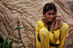 Tika portrait, Desert Pokaran-India (MeriMena) Tags: flickrtravelaward eos450d canon merimena flickrsbest travel ngc cultures smiles asia colors rajasthan portrates india village beautiful
