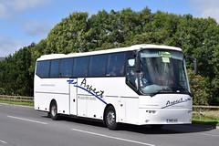 SN10AUV  Aspect, Wishaw (highlandreiver) Tags: sn10auv sn10 auv aspect coaches wishaw glasgow strathclyde bova futura bus coach license