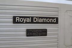 Royal Diamond | Nameplate | Newton Abbot (Jacob Tyne) Tags: class 67 skip general motors db deutsche banh cargo schenker 82 dvt mk3 driving van trailer management train newton abbot 1z05 newport dawlish