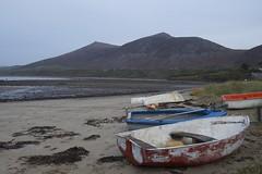 Trefor Beach (daveguile1878) Tags: boat beach trefor mountain