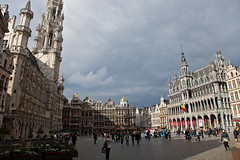 Brussels - La Grand Place (JOAO DE BARROS) Tags: barros joo belgium brussels square architecture people street monument