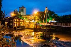 timb-0065 (iedafunari) Tags: timb santa catarina brasil tapyoka represa rio benedito passarela anoitecer ponte enxaimel